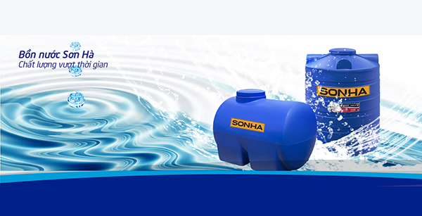 Bồn nước nhựa Sơn Hà phù hợp với mục đích sử dụng nào